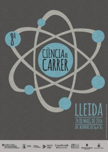 Cartell Ciència al carrer 2014