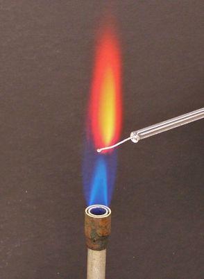 Flama de l'estronci
