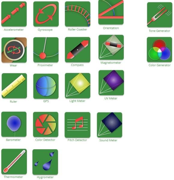 Physics Toolbox Apps