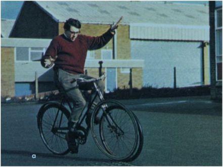 Jones en la seva bici